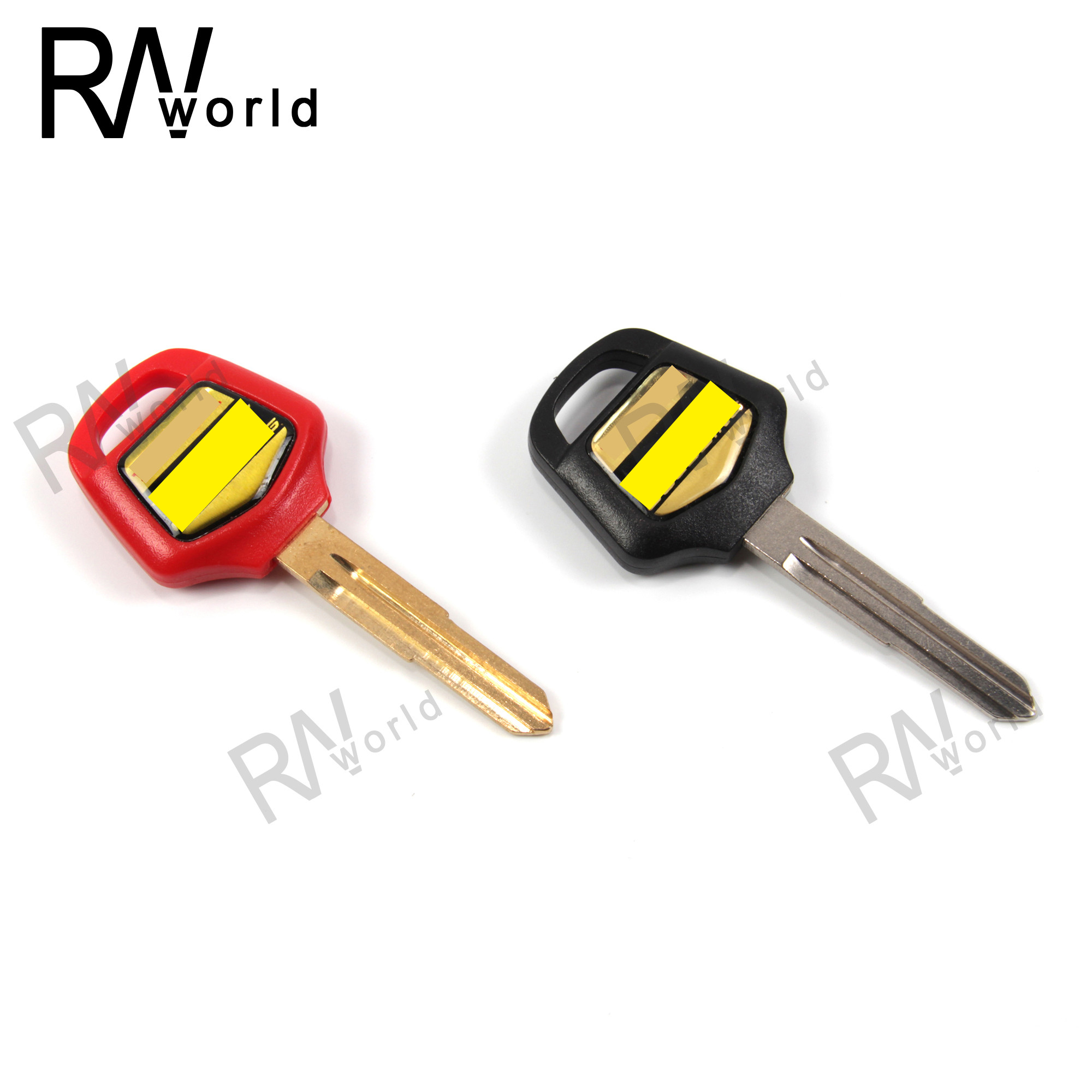 Motorcycle Uncut Blade Blank Key Embryo For HONDA Goldwing GL1000 1100 1200 1500 1800 Motorcycles Replacement Accessories