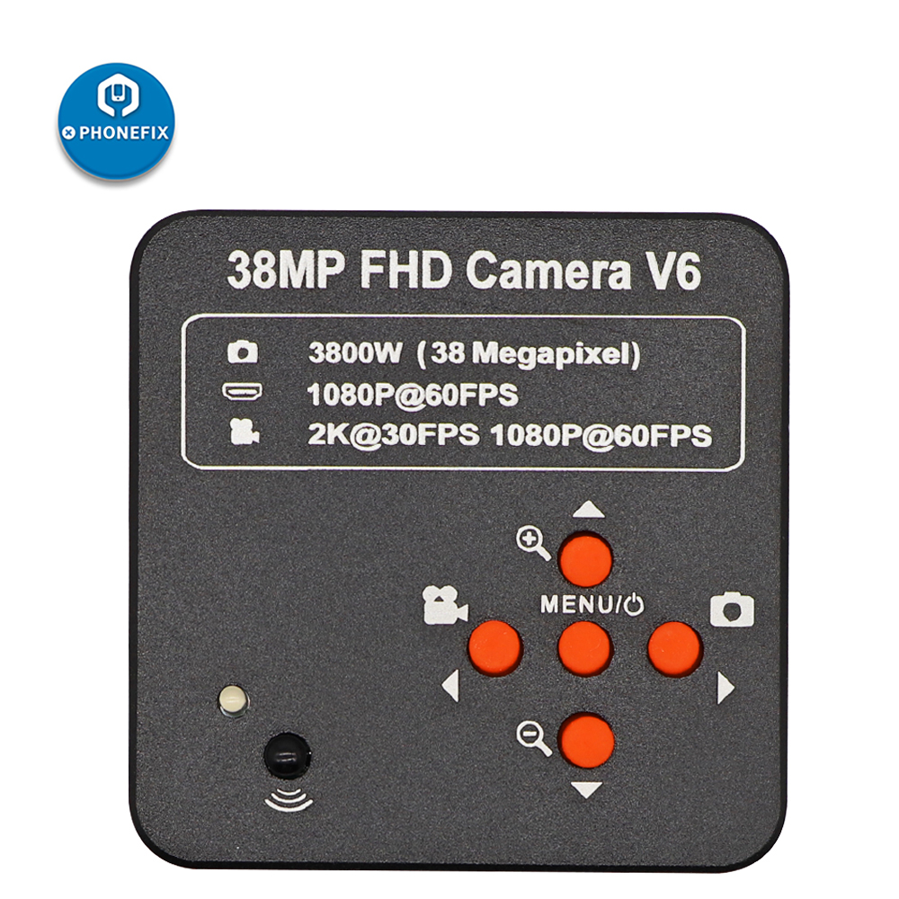 HD 1080P 60FPSกล้องจุลทรรศน์กล้อง2K 3800W 38MP HDMI USBอุตสาหกรรมอิเล็กทรอนิกส์ดิจิตอลC-เลนส์สำหรับซ่อมPCB