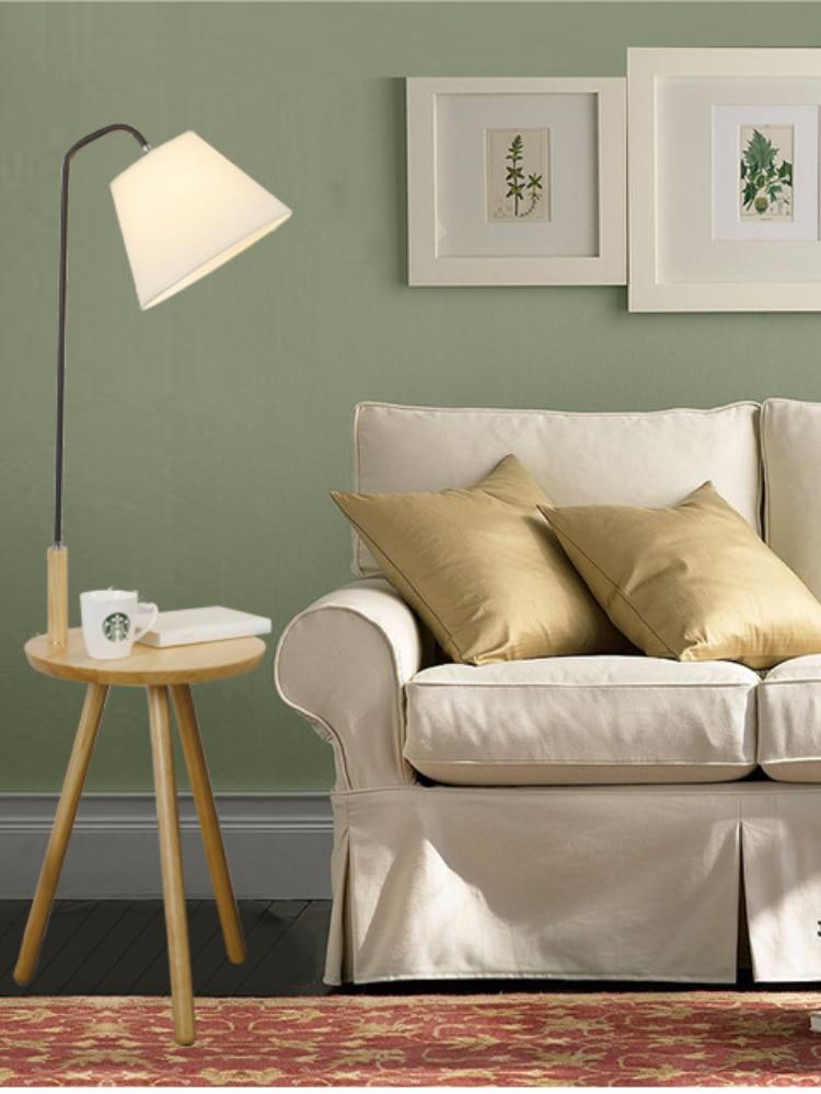 moderna prateleira lâmpada de assoalho sala estar