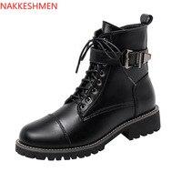Ботинки с пряжкой и шнуровкой Цена 2375 руб. ($30.58) | 20 заказов Посмотреть