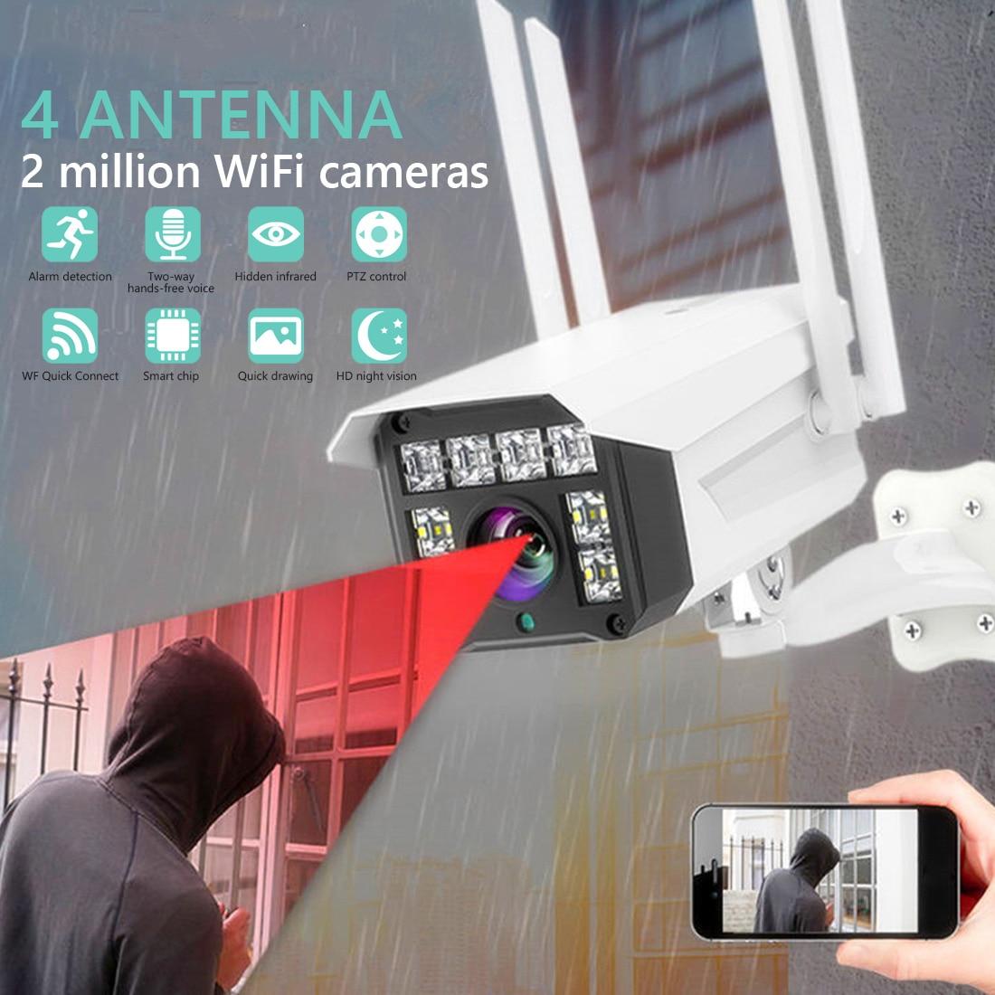 Outdoor Security Camera Cloud  IP Camera 1080P HD Wireless WIFI Outdoor Security Bullet Camera CCTV