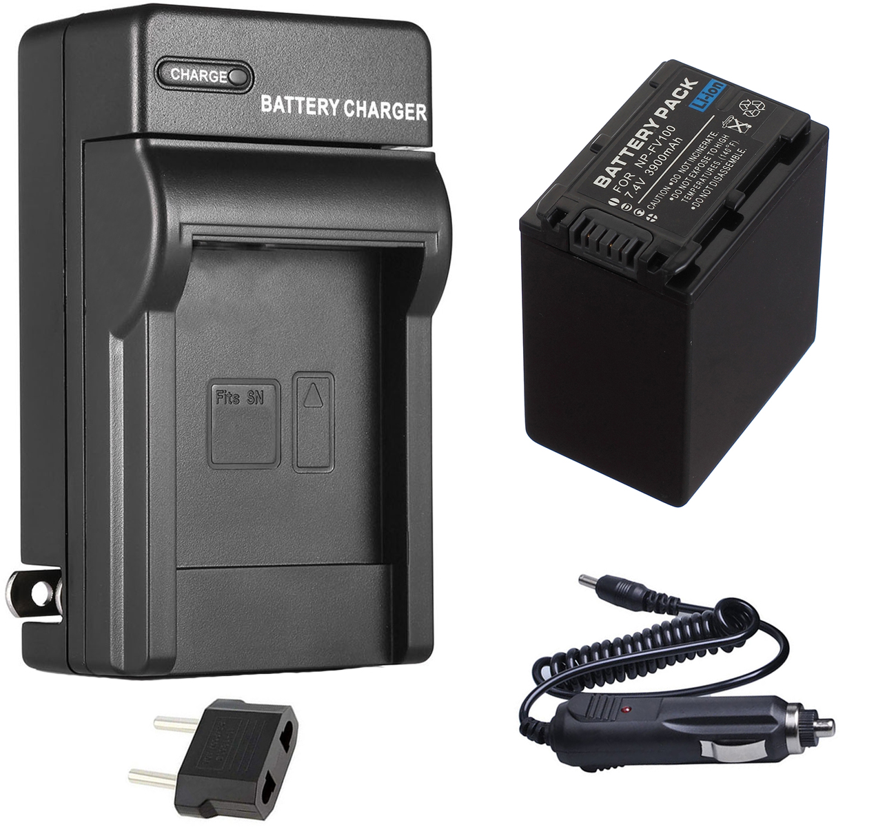HDR-CX485E Handycam Camcorder Micro USB Battery Charger for Sony HDR-CX450E DR-CX455E HDR-CX480E