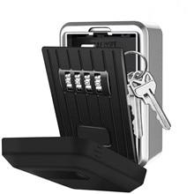 Ключей настенный всепогодный сбрасываемый код ключа коробки замка блокировки коробки с 4-кодовый замок Коробка для умного дома