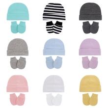 Baby Infants Anti Scratching Cotton Gloves+Hat Set Newborn Mittens Warm Cap Kit cheap CN(Origin) 0-6m 7-12m 13-24m 25-36m Adjustable Unisex Cartoon 4-6 months 7-9 months 10-12 months 13-18 months 103D2SS902091-AB