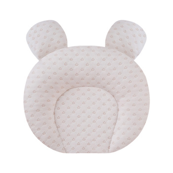 Baby Pillow Latex Pillow Baby Shaped Pillow Type Correction Anti-Deviation Head Breathable Pillow