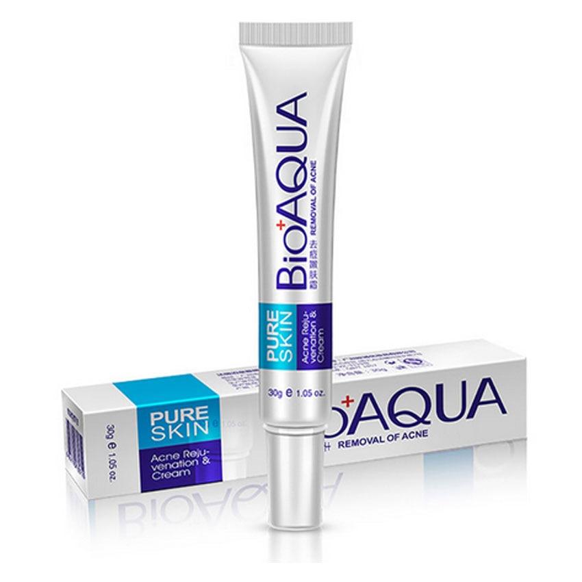 Skin Care Brand BIOAQUA Acne Scars Cream Acne Treatment Face Care Anti Acne Removal Gel Whitening Moisturizing Cream 30g Makeup 2
