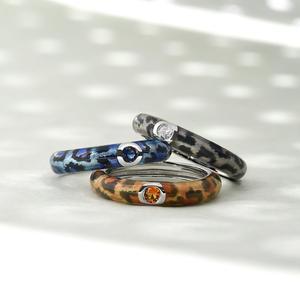 Image 5 - SANTUZZA כסף טבעות לנשים צבעוני אמייל טבעות נצח טבעת 925 כסף סטרלינג מסיבת תכשיטים בעבודת יד אמייל