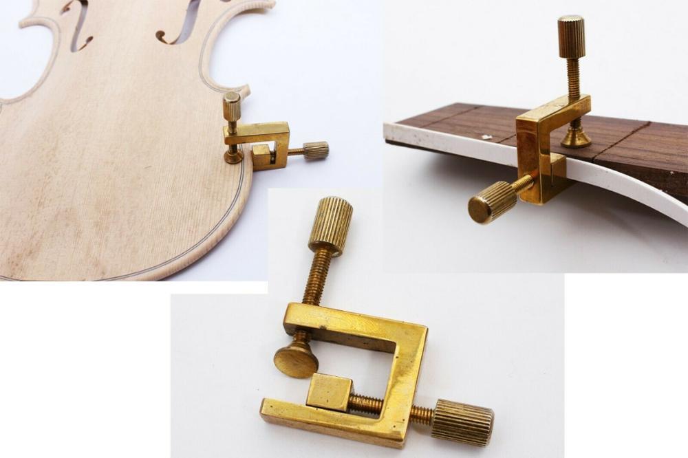 Peças de Reparo Ferramenta de Tomada de Violino Grampos de Guitarra de Bronze Violino Rachaduras Quebrado Cola 2