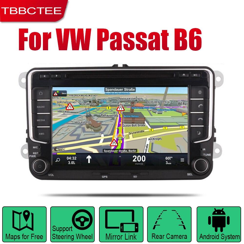 TBBCTEE Авто Радио 2 Din Автомобильный dvd плеер на основе Android для Volkswagen VW Passat B6 2005 ~ 2010 gps Навигация BT Wifi карта мультимедиа|Мультимедиаплеер для авто| | АлиЭкспресс