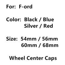 4 pçs 54mm 56mm 60mm 68mm roda do carro auto centro hub tampa aro tampas capa emblema logotipo emblema estilo acessórios