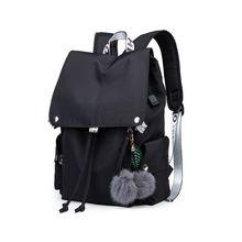 Nylon Casual Laptop Women Backpack Rucksack Shoulder Bag School Bookbag Daypack for Teenager Girls