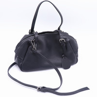 100% Genuine Cow Leather Women Handbags 2020 New Casual Portable Shoulder Bag Female Crossbody Black Zipper Tote Bag Small