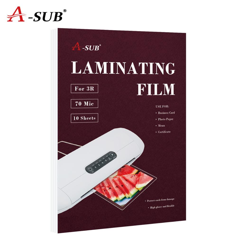 A4 70mic Laminating Film PET+EVA For Photo/Files/Card/Picture Lamination Roll Film Plastic Film