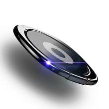 Novo 360 graus de metal anel de dedo titular para o iphone x samsung s9 ipad comprimidos titular do dedo para o telefone celular anel móvel titular