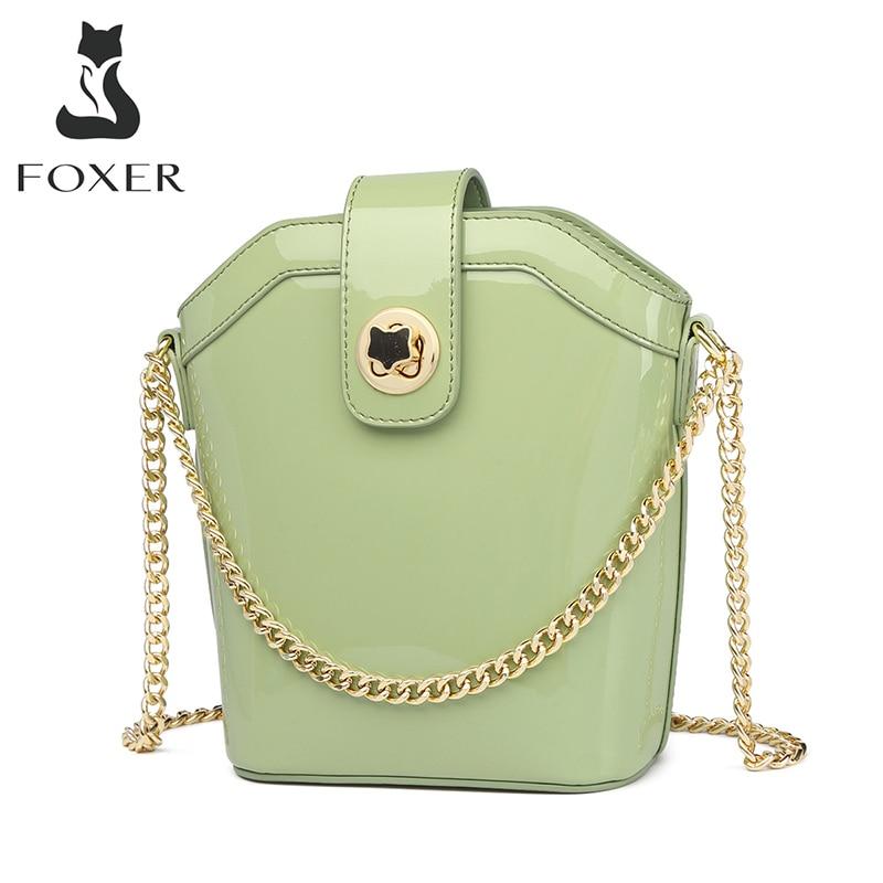 FOXER женская сумка клатч для телефона мини мобильный телефон шикарная Сумка тоут женские вечерние сумки через плечо сумка клатч из спилка|Сумки с ручками|   | АлиЭкспресс