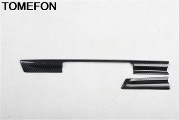 TOMEFON For Audi A5 2017 2018 2019 LHD Front Middle Center Console Control Dashboard Panel Cover Trim Sticker Accessories ABS