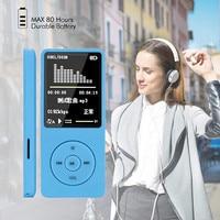 NEUE Mode Tragbare MP3 MP4 Player LCD Screen FM Radio Video Games Film USB Hallo fi Music Player Mit sd karte