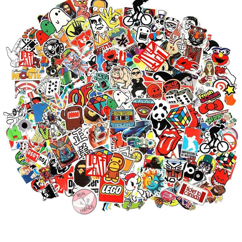 50pcs/pack Funny Meme Graffiti Stickers For For Cars Motorcycles Water cups Furniture Children's toys Luggage Skateboards lable