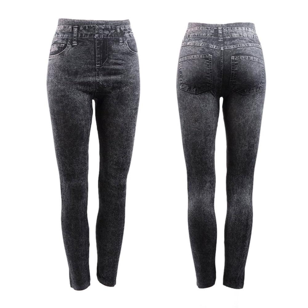 New Casual skinny   jeans   pants women high waist slim black   jeans   female summer pencil pants ladies denim trousers Calca Feminina