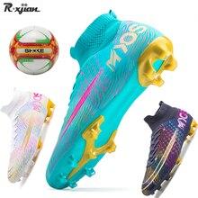 R.xjian brand high-quality men's football shoes TF/FG football cleats football shoes outdoor breathable children's footballshoes