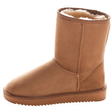 Winter Boots Shoes Classic Genuine-Sheepskin-Leather Woman Women's Best Fur Wool Warm