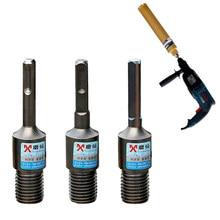 Adaptador de Brocas de diamante SDS Plus M22 para martillo eléctrico, convertidor de taladro eléctrico, adaptadores de interfaz de brocas