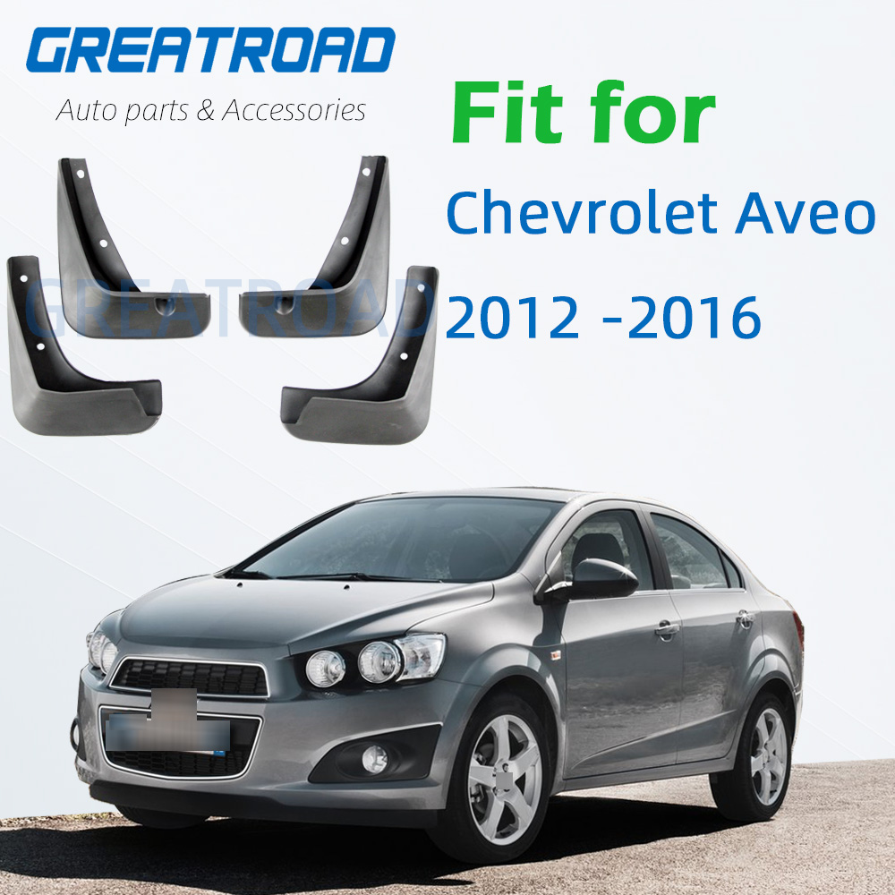 Брызговики для Chevrolet Aveo Sonic, 2012-2016, 2013-2014