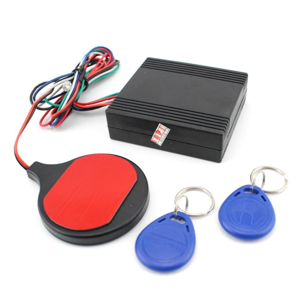 Motorcycle Scooter Smart ID Card Induction Lock Anti-Theft Security Alarm System