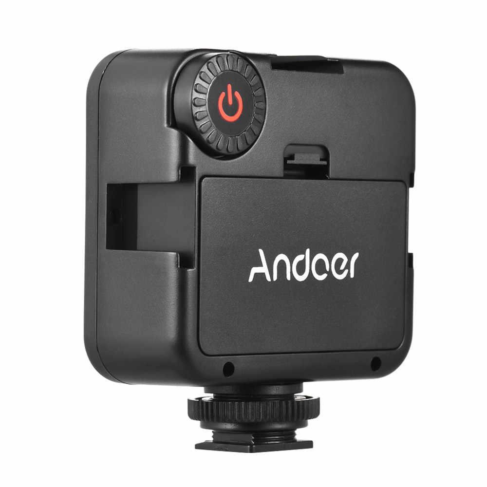6000K Dimbare Fotograferen Verlichting 42 Pcs Kralen Led Video Verlichting Met Koude Schoen Voor Canon Nikon Sony Dslr Camera