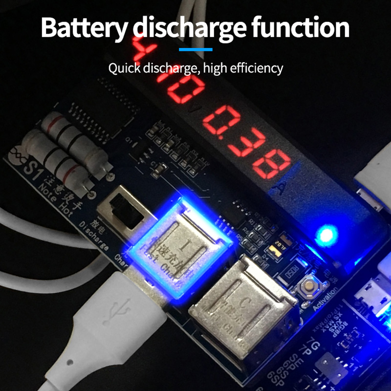 Image 3 - DIYFIX Universal Phone Battery Fast Charging and Activation Board for iPhone Samsung for China Smartphone Repair Tool SetHand Tool Sets   -