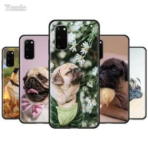 CCC etui do Samsung Galaxy S10 S10e S9 S8 S7 krawędzi uwaga 8 9 10 Plus 5G czarny silikonowy telefon pokrywa miękka Coque