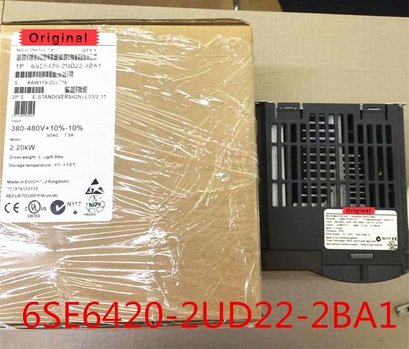 Original en la nueva caja 6SE6420-2UD22-2BA1