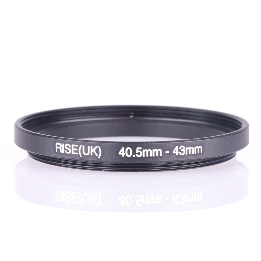 RISE(UK) 40.5mm-43mm 40.5-43 Mm 40.5 To 43 Step Up Filter Ring Adapter