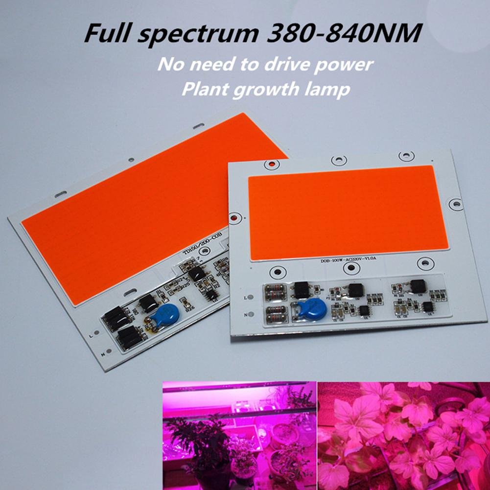 150W 220V Full Spectrum Free Drive Plant LED Grow Light With Integrative Light Source For Plant Vegetable Cultivation Seedling