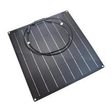 Flexible and convenient home power generation system, 20w ETFE semi-flexible solar panel