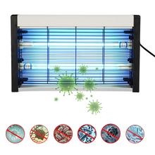 20W UVC Quartz Ozone Sterilizer Wall Hanging Disinfection Bacterial Lamp Home Office Germicidal Light Kill Mites 220v