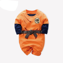 Dragon Ball Baby Rompers Newborn Baby Boys Clothes