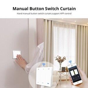 Image 4 - Zemismart WiFi Tuya Curtain Switch Wall Switch Work with Alexa Google Home Smart Life Timer Control