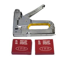3 in 1 Hand Nail Staple Gun 3 Ways Stapler Tacker for Furniture Wood Home Office