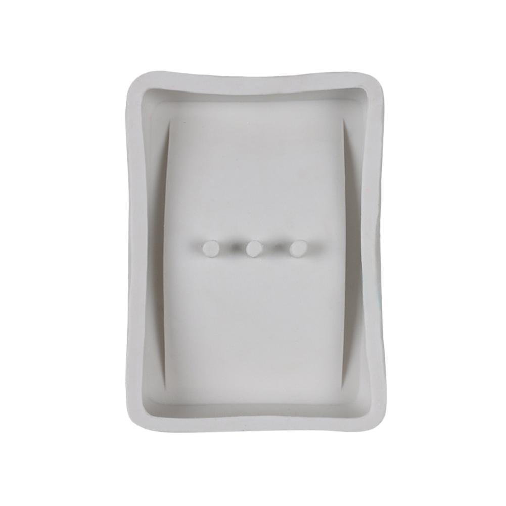 DIY Silicone Soap Box Holder Mold Cake Baking Mold Concrete Crafts Silicone Mould