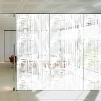 SUNICE Frosted Window Film Adhesive Privacy Film for Glass Windows Decorative Window for Home Office UV Protection152*200CM