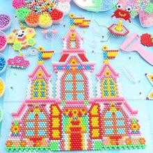DIY Water Magic Beads Gift for Children Animal Molds Hand Making Puzzle Kids Educational Toys Boys Girls Spell Replenish Beans