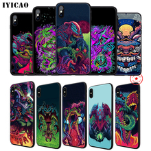 IYICAO Hyper Beast Soft Phone Case for iPhone 11 Pro XR X XS Max 6 6S 7 8 Plus 5 5S SE Silicone TPU