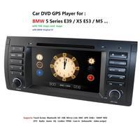 Car multimedia player Car DVD GPS head unit For BMW E39 X5 sat nav stereo for 5 Series E38 E53 520 Steering wheel control 8G map