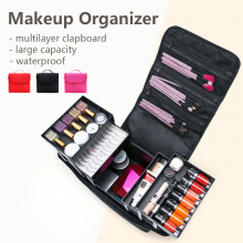 Makeup Cosmetic Case Large Capacity Makeup Bag Women Beauty Organizer Portable