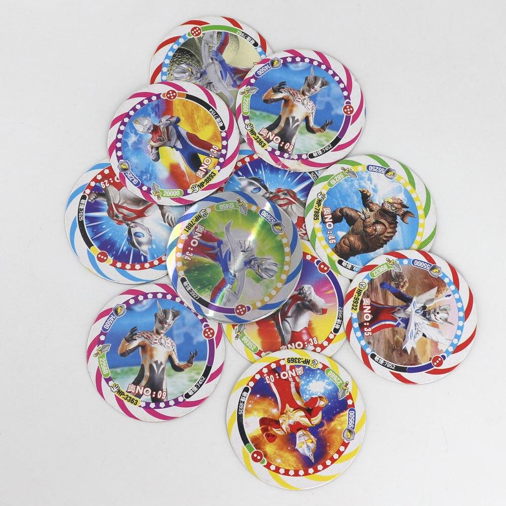 Takara Tomy 12pcs/set Shining Pokemon Cards For Kids Toy Collections Dragon Ball Z Cards Kaiju Goku Flash Card