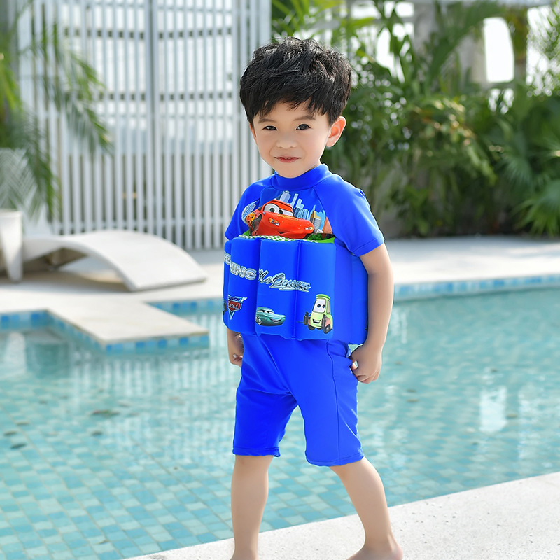 CHILDREN'S Swimwear BOY'S Girls Children Swimming Suit By Swimming Suit Hot Springs Swimming Pool Learning Practice Swimming Clo