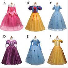 Fantasy Baby Birthday Tutu Outfits Dress Up Baby Girl Dresses Children Princess Kids Party Costume Teenage Girl Fancy Ball Dress цены онлайн