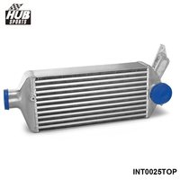 Top Mount Bolt On Full Aluminum Racing Turbo Intercooler For Subaru Impreza WRX EJ25 GH GRB GEE 08 14 HU INT0025TOP