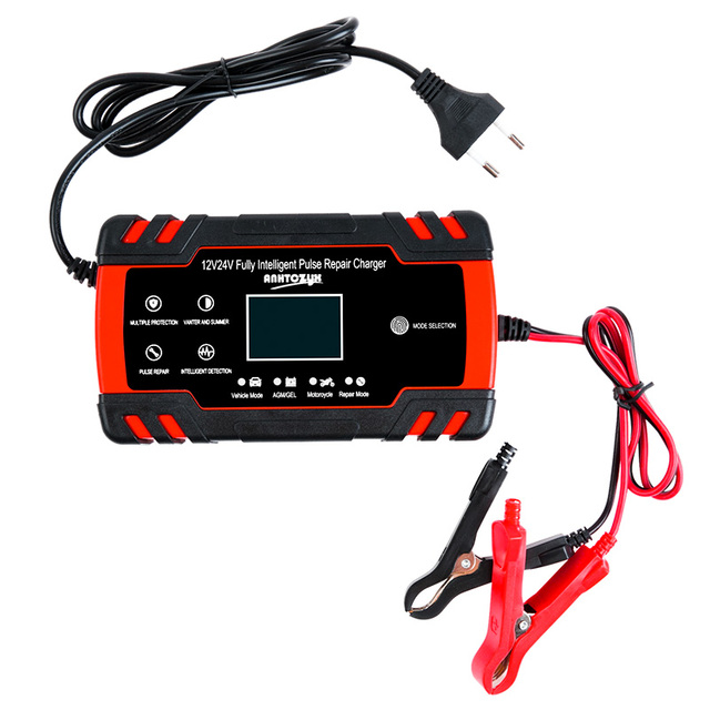Motorcycle Battery Charger 6